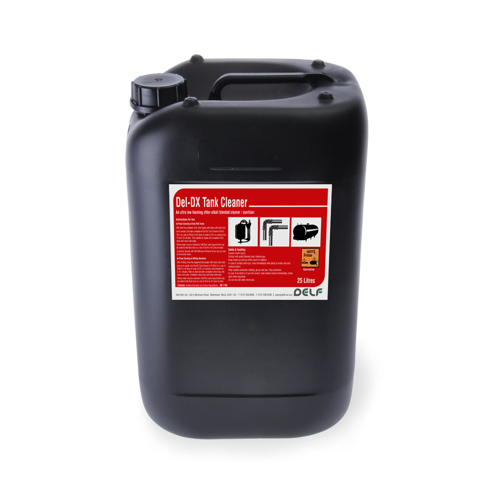 DAIRY HYGIENE - BULK TANK CLEANERS - Del-DX Tank Cleaner 25 litre
