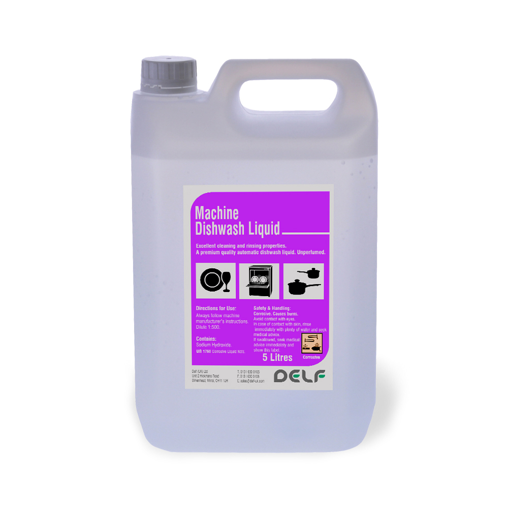 Machine Dishwash Liquid - 5 Litre