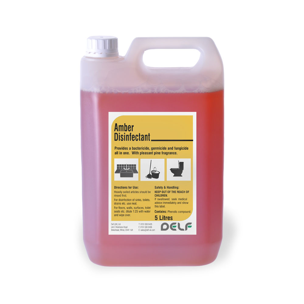 Amber Disinfectant - 5 Litre