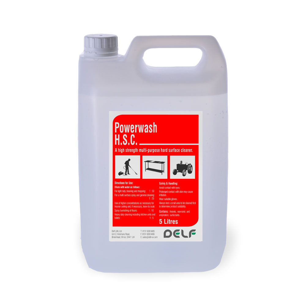 Powerwash Excel Super HSC 5 Litre