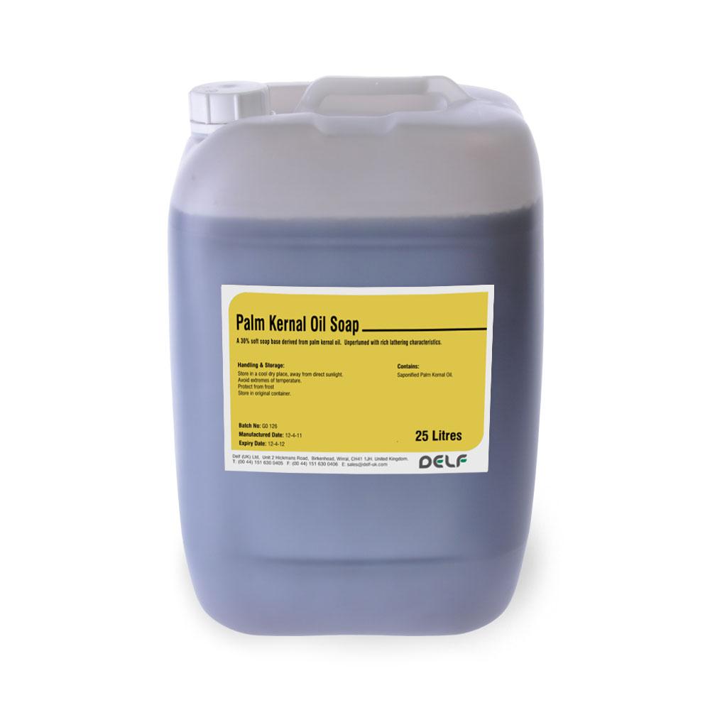 Palm Kernal Oil Soap Base 25 Kilo