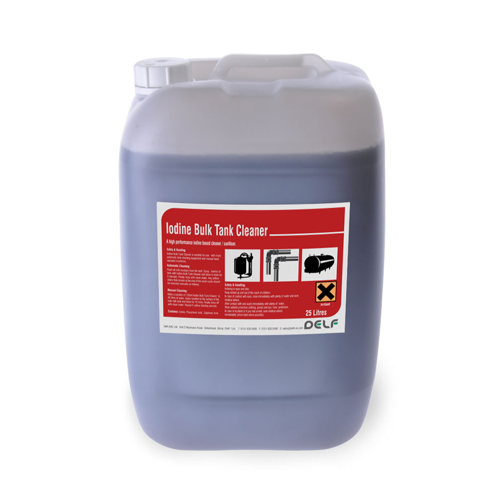 Iodine Bulk Tank Cleaner 25 litre