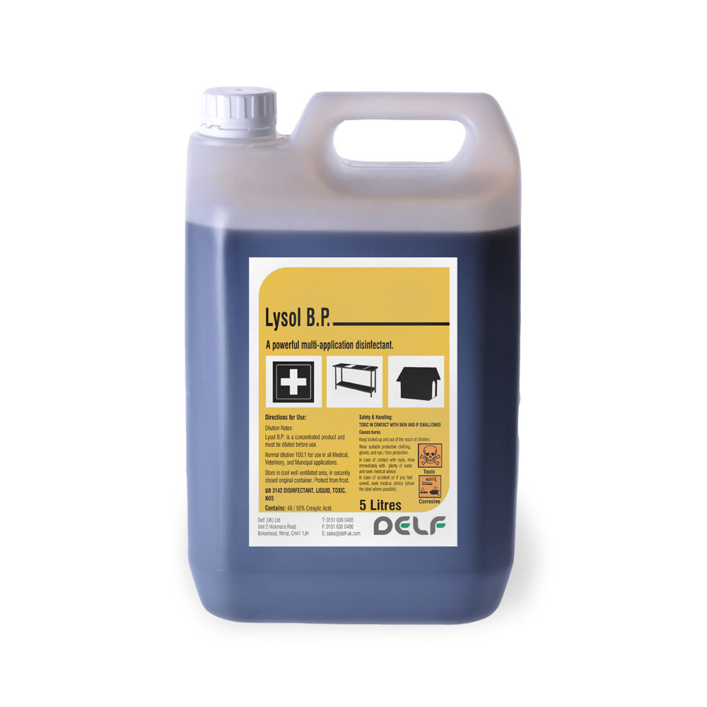 JANITOIRAL - DISINFECTANTS - Lysol - 5 Litre