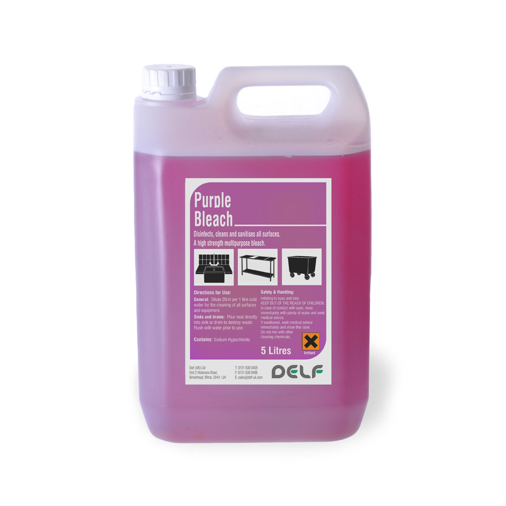 Purple Bleach 5 litre